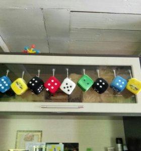 Кубики из автомата.