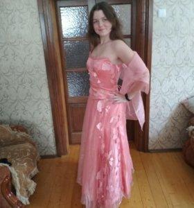 Платье для выпускного 44-46 р-р