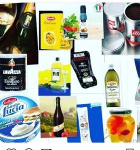 Товары и продукты из Финляндии .