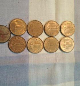 Продам монеты 1руб.
