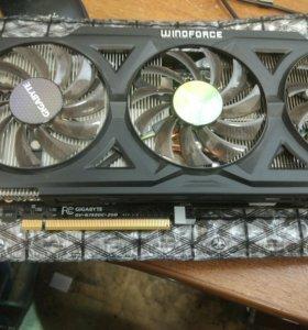 Видеокарта GIGABYTE GeForce GTX 760 2 Gb