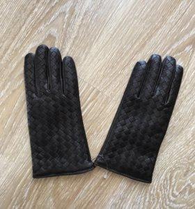 Перчатки кожа, новые.