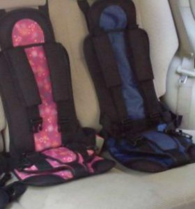 Детское бескаркасное автомобильное кресло Дак