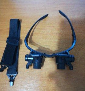 Ювелирные очки Magnifier 9892G