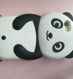 Чехол на iPhone 6/6s.Панда!Мишка!