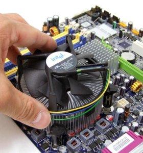 ремонт пк ноутбуков  установка виндовс