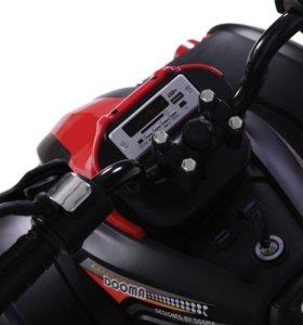 Электроквадроцикл Dongma ATV Red 12V