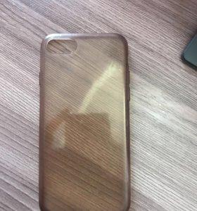 Селеконовый чехол на iPhone 7