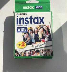 Фотоплёнка Instax