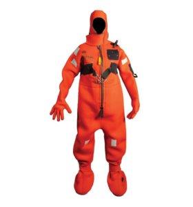 Спасательный костюм оранжевый, ( неопрен )