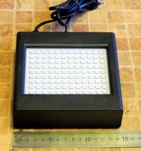 Стробоскоп 25 Ватт на 108 цветных светодиодов