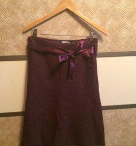 Тёплая юбка «годе»