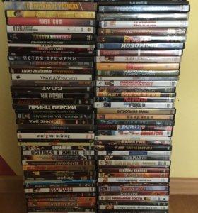 DVD фильмы 95 шт