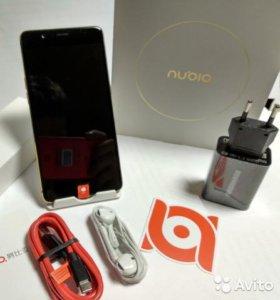 новый ZTE Nubia M2 4Gb озу, 64Gb пзу