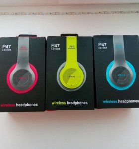 Блютуз-Наушники Wireless P47