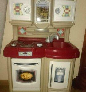 Сша детская кухня игровая мебель профессии step 2