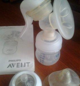 Молокоотсос AVENT+ силиконовые накладки