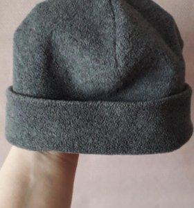 шапочка флис на 3-4года