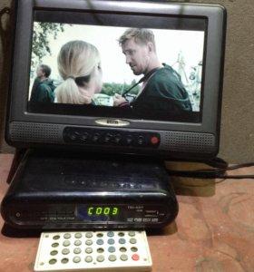 Телевизор ЖК+цифровое ТВ Т2