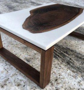 Экологический стол из дуба
