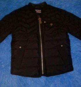 Новая куртка некст р.98