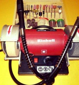Точильный станок-гравер с гибким валом Einhell