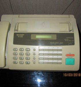 Телефон-факс копир sharp F0-235