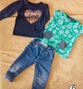 Комплект вещей на девочку