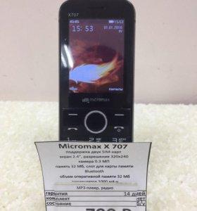 Телефон Micromax X707 (Нв) Гарантия