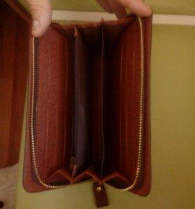Мужской кошелёк-портмане новый