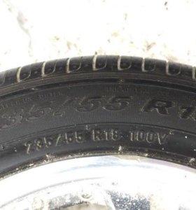 Летняя резина Pirelli 235/55 R18