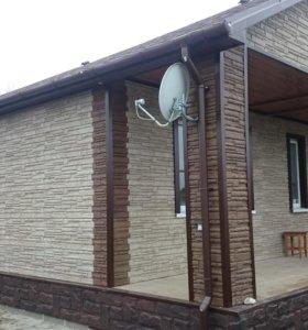 Фасадные панели ПВХ