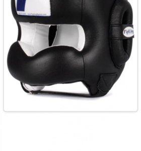 Шлем тренировочный с бампером Fighting sport