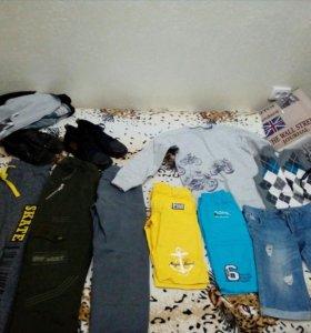 Много одежды для мальчика 10-12 лет