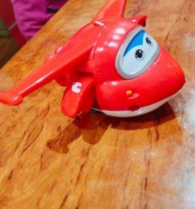 Детская игрушка трансформер самолётик
