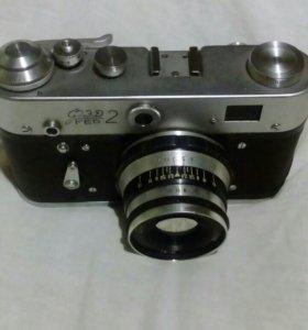 Фотоаппарат пленочный ФЭД-2