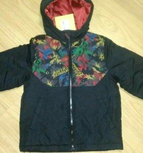 Новая фирменная куртка Лига Справедливости