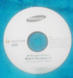 Диск Samsung Mobile Navigator 6