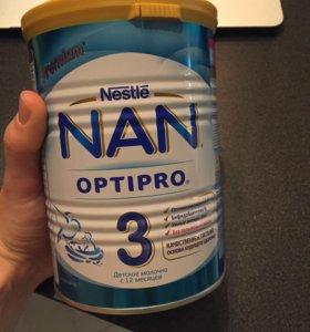 Детская смесь Nan 3 от 12мес