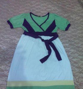 Платье летнее яркое