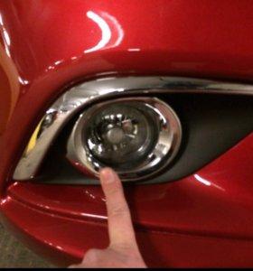 Реснички птф Mazda 6 2013-2017
