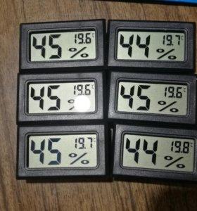 Влагомер и термометр