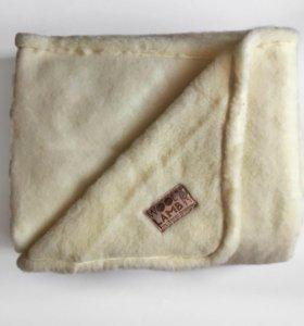 Одеяло 💯овечья шерсть 1,5спальное