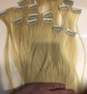Искусственные волосы на трессах 60 см