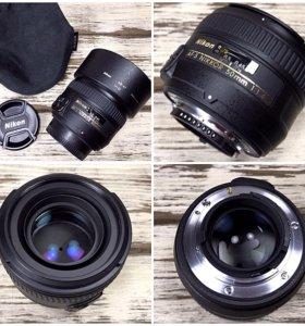 Объектив Nikon nikkor 50mm f1.4G AF-S