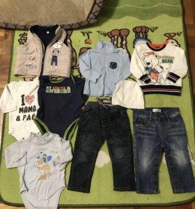 Пакет вещей на мальчика 74 рост