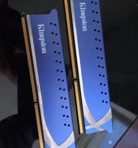 Память DIMM DDR3 4096MBx2 1600MHz Kingston HyperX