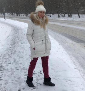 Пуховик куртка Neohit Снежная Королева