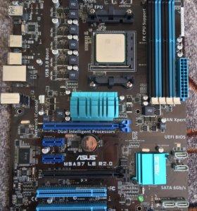 Материнская плата M5 A97 LE R2.0, проц AMD 8320 FX