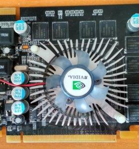 Видеокарта nvidia 7600 gs, 256 mb, 128 bit.